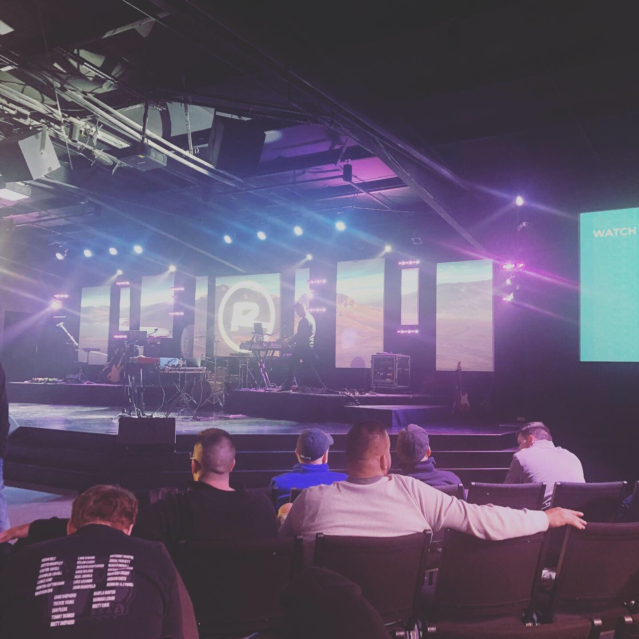 Big Fish Ministries Staff & Residents Attend The Ramp Men's Conference