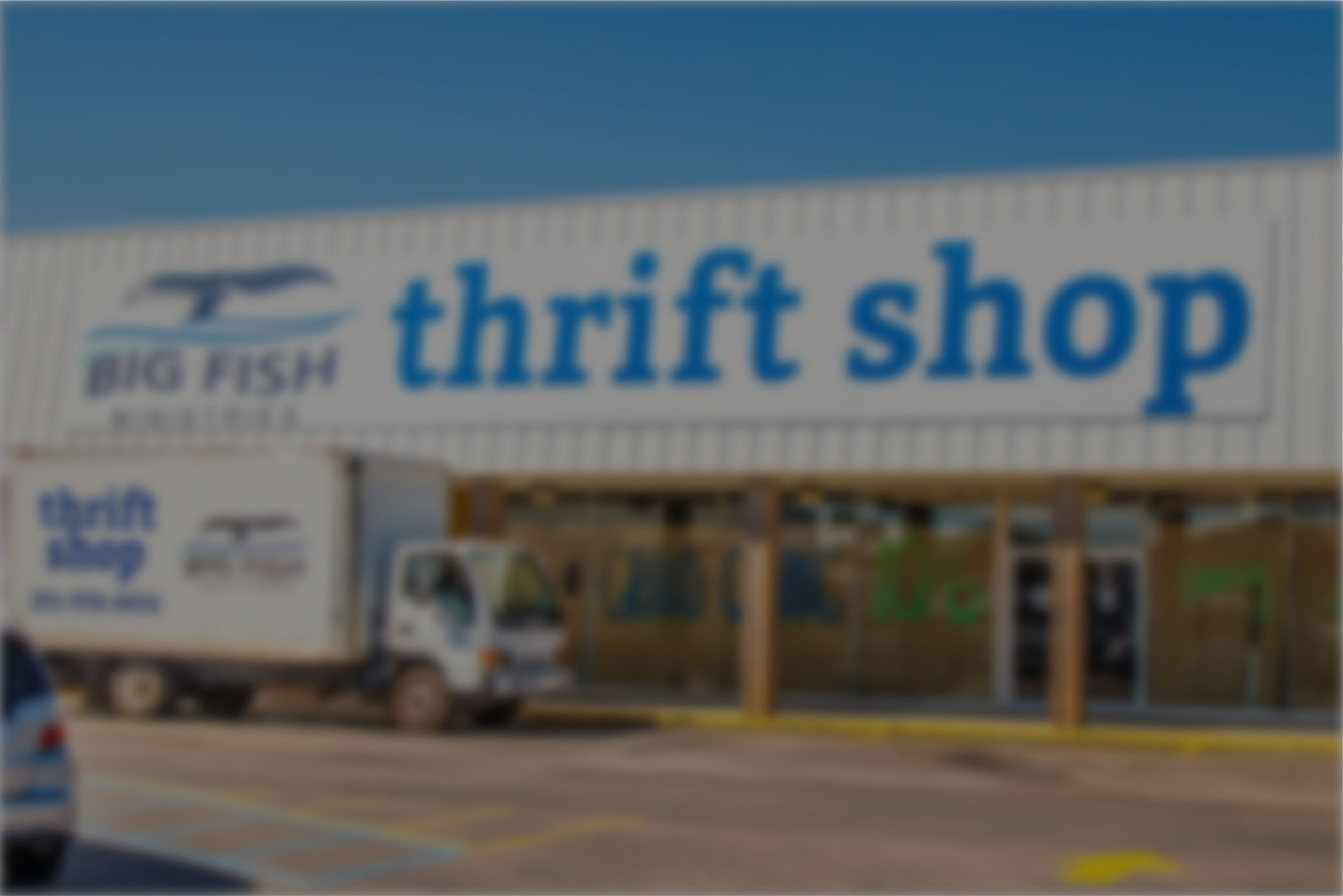 Big Fish Ministries North Thrift Store is Open!