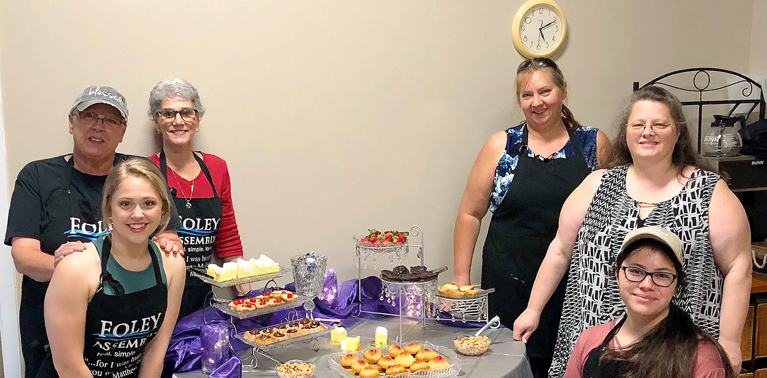 Foley Assembly of God Provides Meals for Women & Men in Recovery